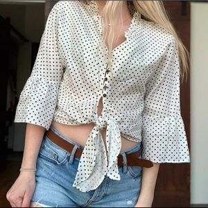 Polkadot Crop Top